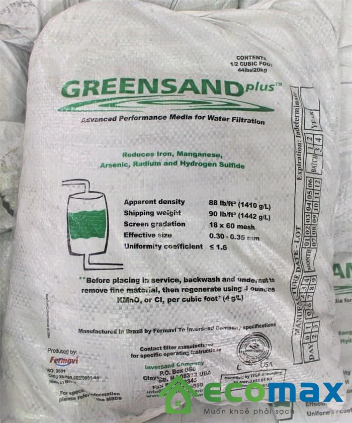 Cát Mangan Greensand Plus Mỹ
