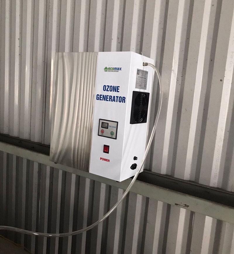 Máy tạo khí ozone khử trùng nước uống Ecomax Water