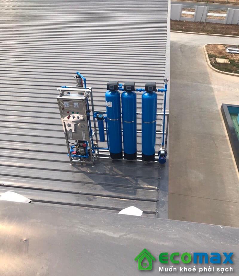 Dây chuyền lọc nước đóng bình đóng chai
