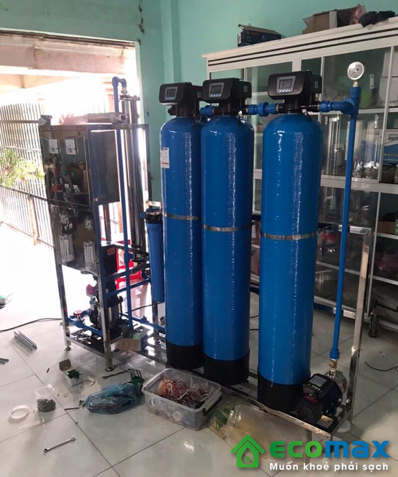Dây chuyền lọc nước tinh khiết 250L