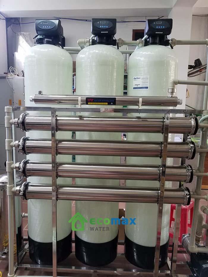 Dây chuyền lọc nước tinh khiết RO 1000L