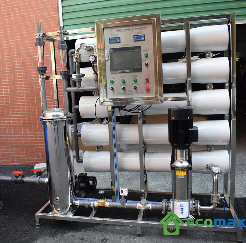 Hệ thống màng lọc nước tinh khiết công suất 7000L
