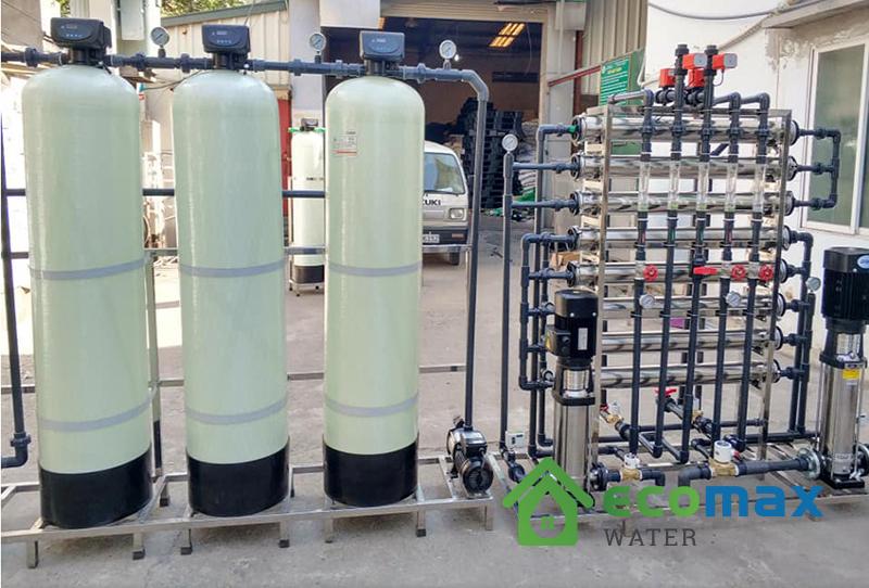Dây chuyền lọc nước đóng bình đóng chai 2000L
