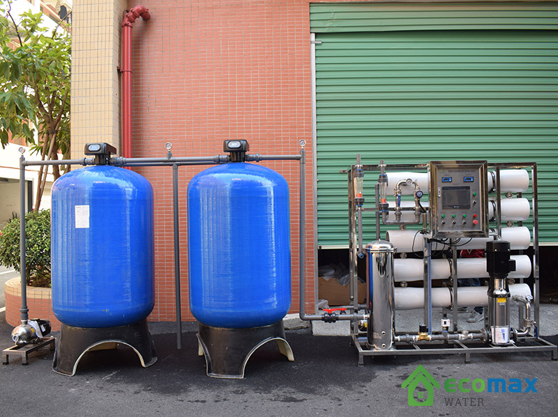 Dây chuyền lọc nước đóng bình đóng chai công suất 7000L