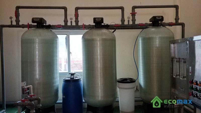 Hệ thống lọc nước giếng khoan công nghiệp 10m3/giờ