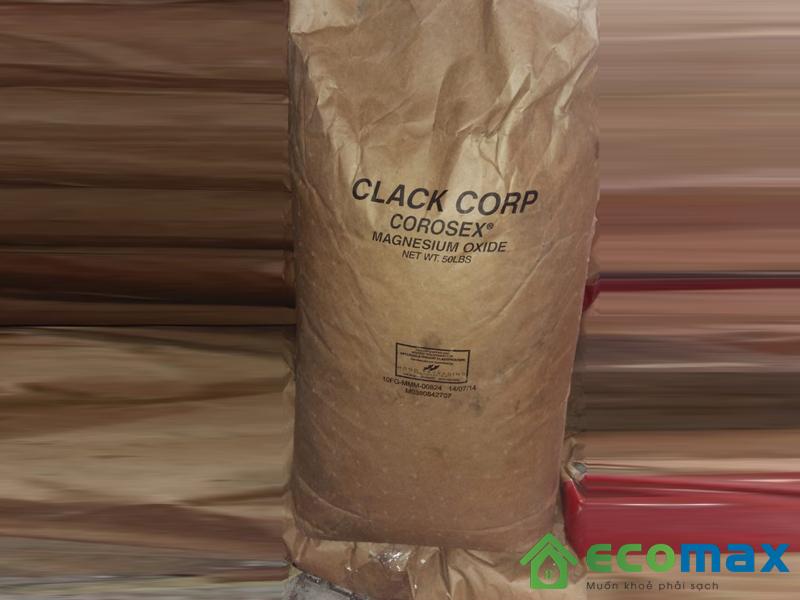 Sử dụng vật liệu nâng ph Corosex trong xử lý nước
