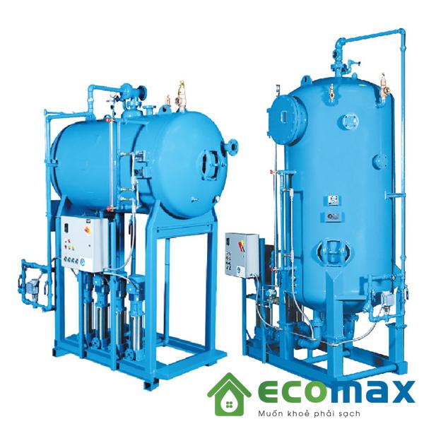 xử lý nước cấp lò hơi bằng hệ thống nào?