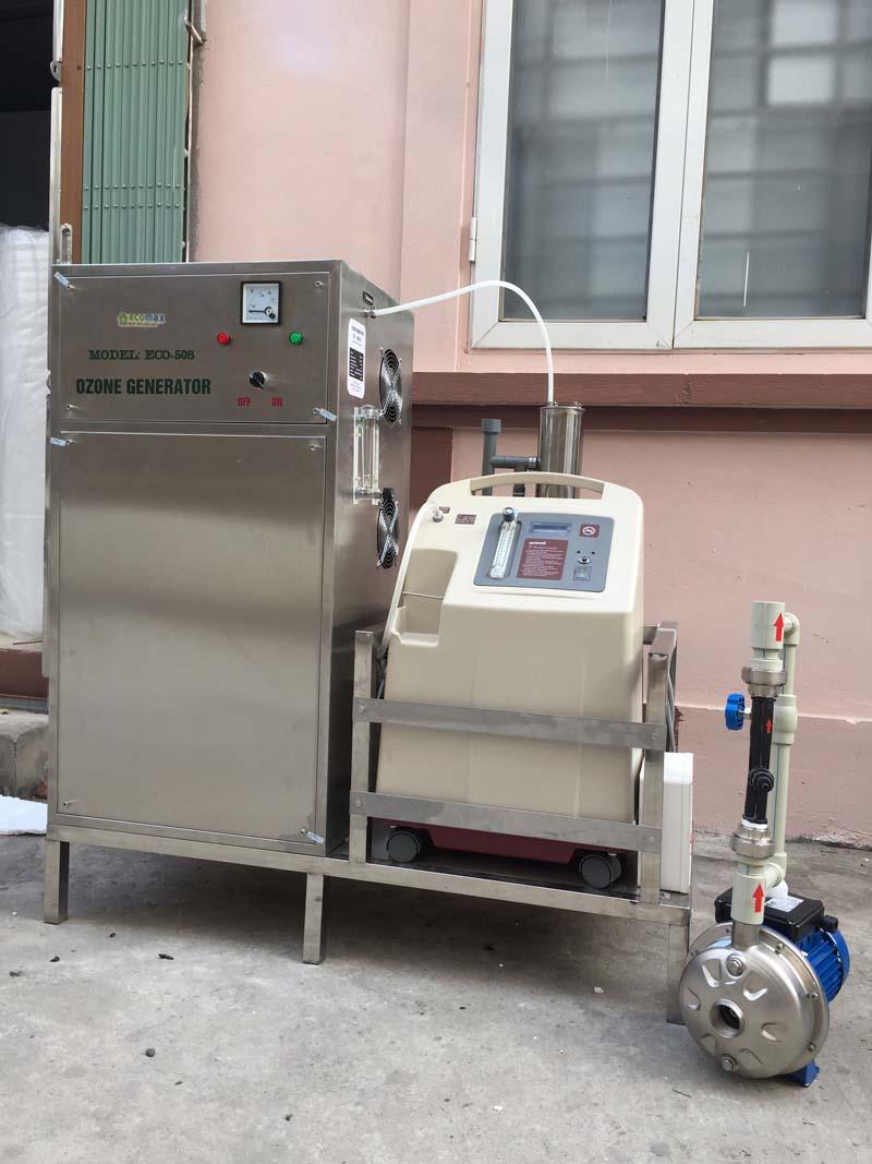 Máy ozone công nghiệp 50g xử lý nước