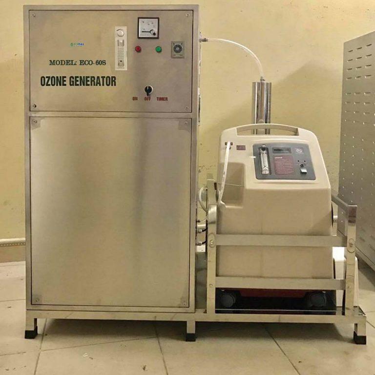 máy ozone công nghiệp 60g
