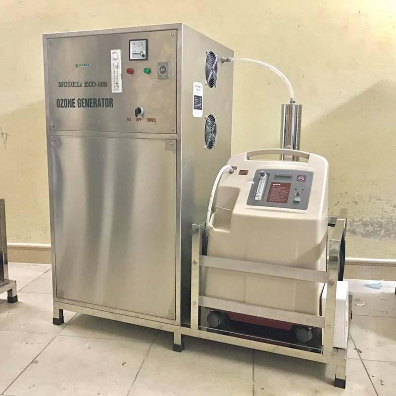 ứng dụng của máy ozone công nghiệp