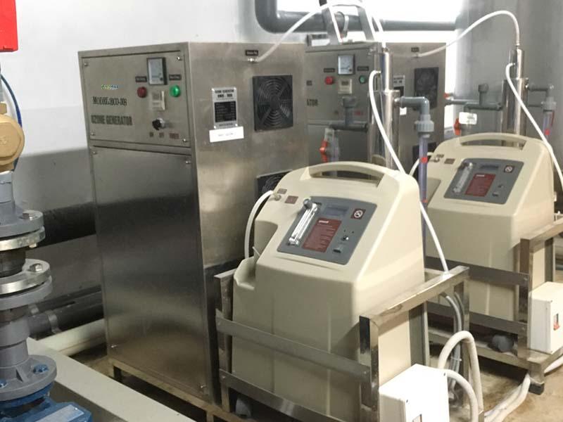 Lắp đặt máy ozone công nghiệp 30g/h