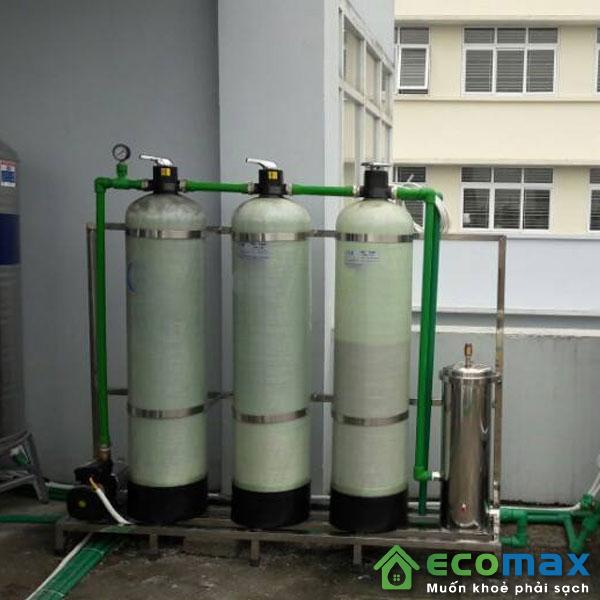 Ứng dụng trong lọc nước sinh hoạt