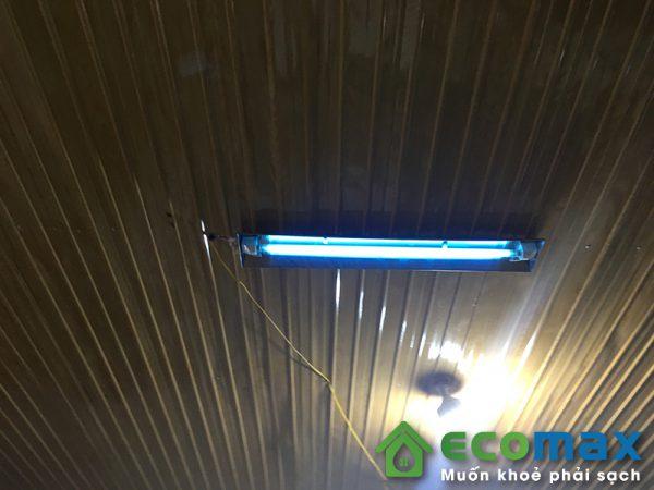 Hình ảnh lắp đặt đèn uv không khí