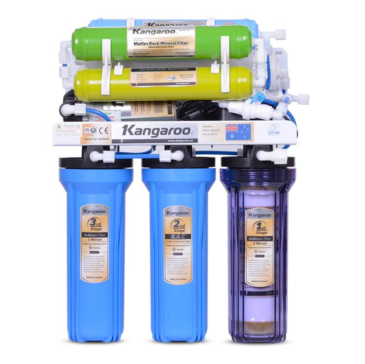 Máy lọc nước kangaroo không vỏ tủ