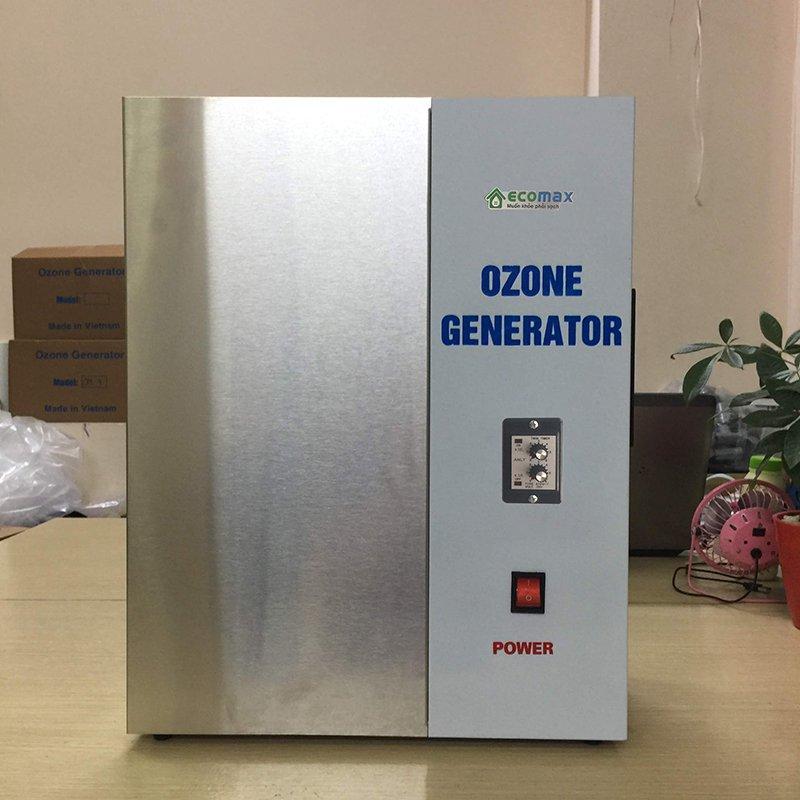 Hướng dẫn sử dụng máy ozone