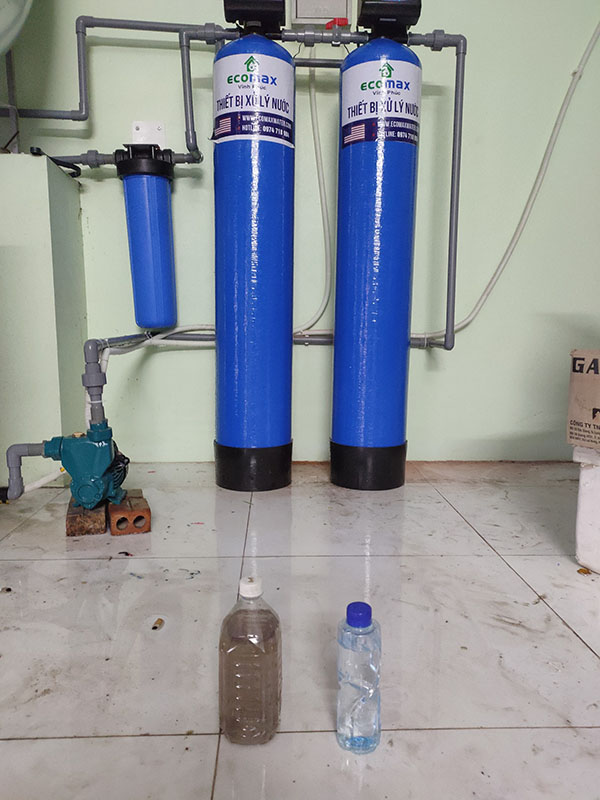 Lọc nước tổng sinh hoạt