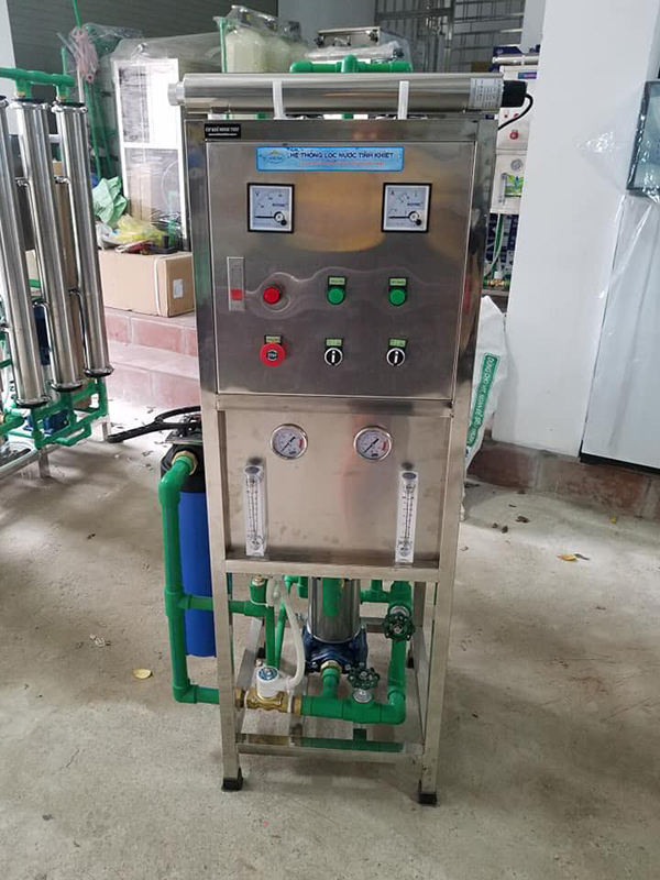 Dây chuyền lọc nước tinh khiết 500lít/h