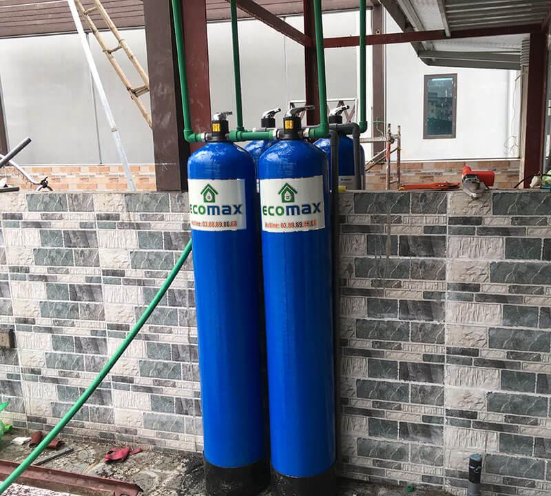 Thiết bị lọc nước tổng sinh hoạt gia đình 2 cấp lọc ECO-02