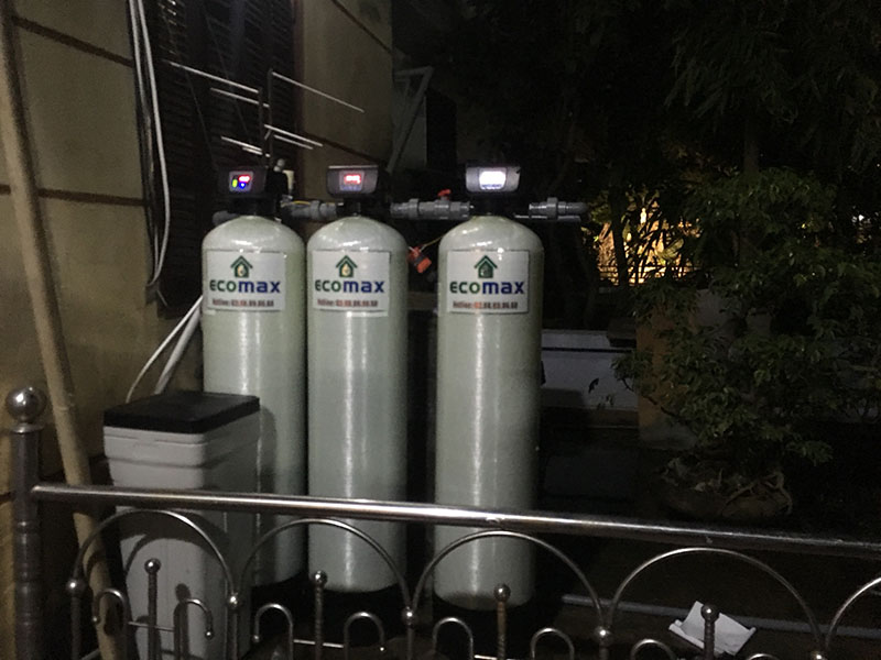 Lọc nước giếng khoan nhiễm bẩn