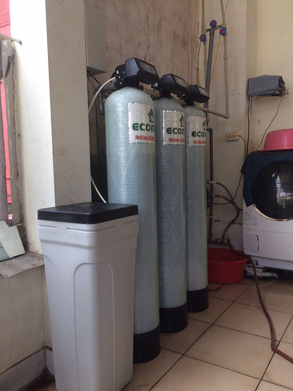 Bộ lọc nước máy tại 65 Mai Dịch