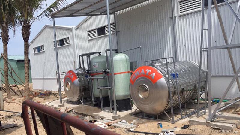 Bộ lọc nước giếng khoan tại Resort Hồ Tràm