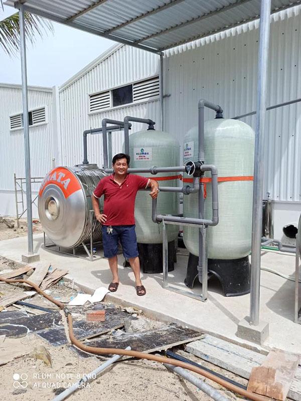 Bộ lọc nước giếng khoan 10m3/h