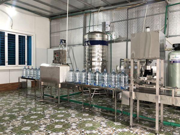dây chuyền lọc nước công nghiệp