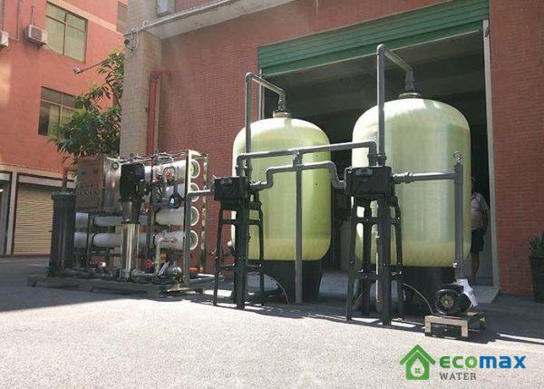 Dây chuyền lọc nước tinh khiết 6000 lít
