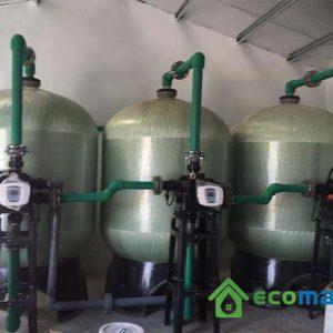 Lọc nước giếng khoan công nghiệp 40m3/h