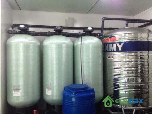 Bộ lọc nước giếng khoan công nghiệp 7m3/h