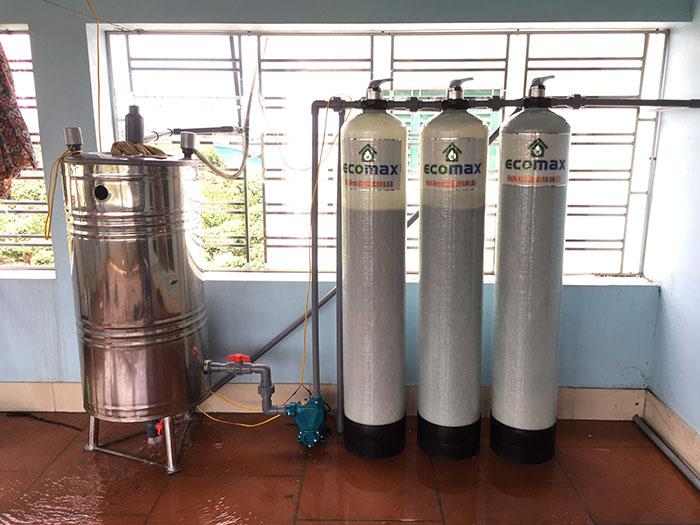Lắp đặt hệ thống lọc nước giếng khoan tại Lục Ngạn, Bắc Giang