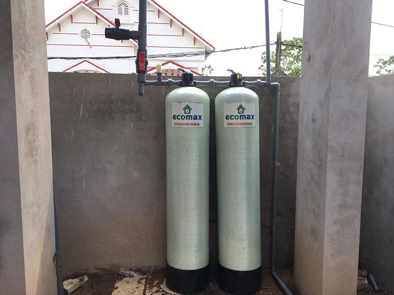 Bộ lọc nước giếng khoan tại Phổ Yên