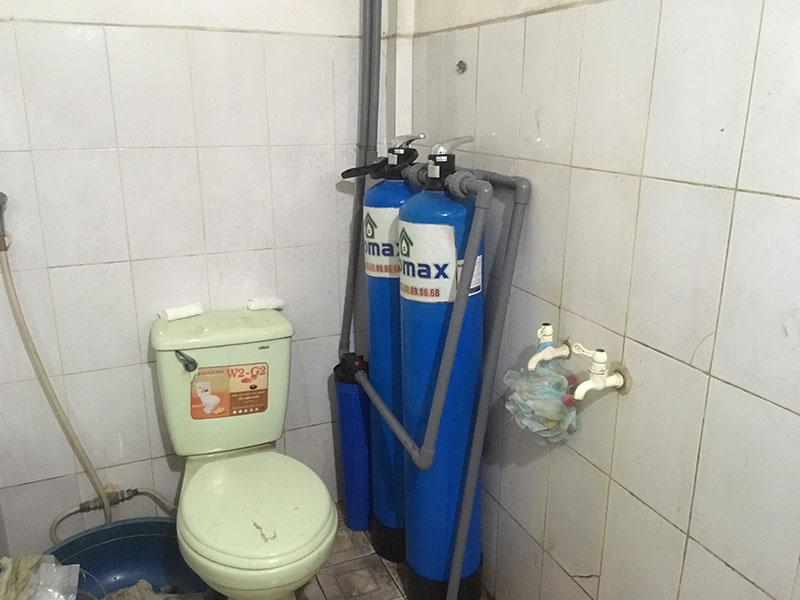 Bộ lọc nước ECO-02C lắp đặt tại Mê Linh