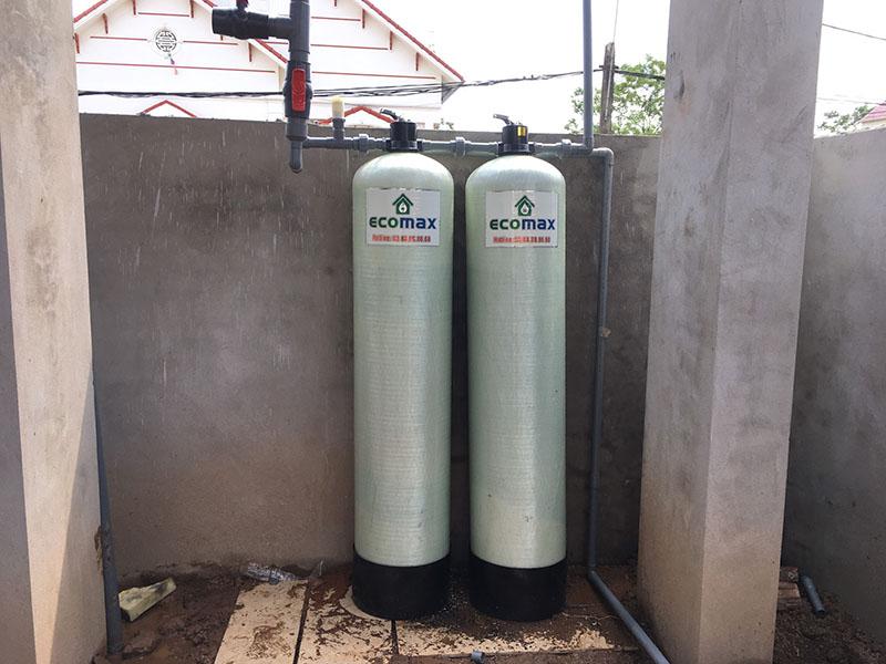 Bộ lọc nước giếng khoan tại Phổ Yên, Thái Nguyên