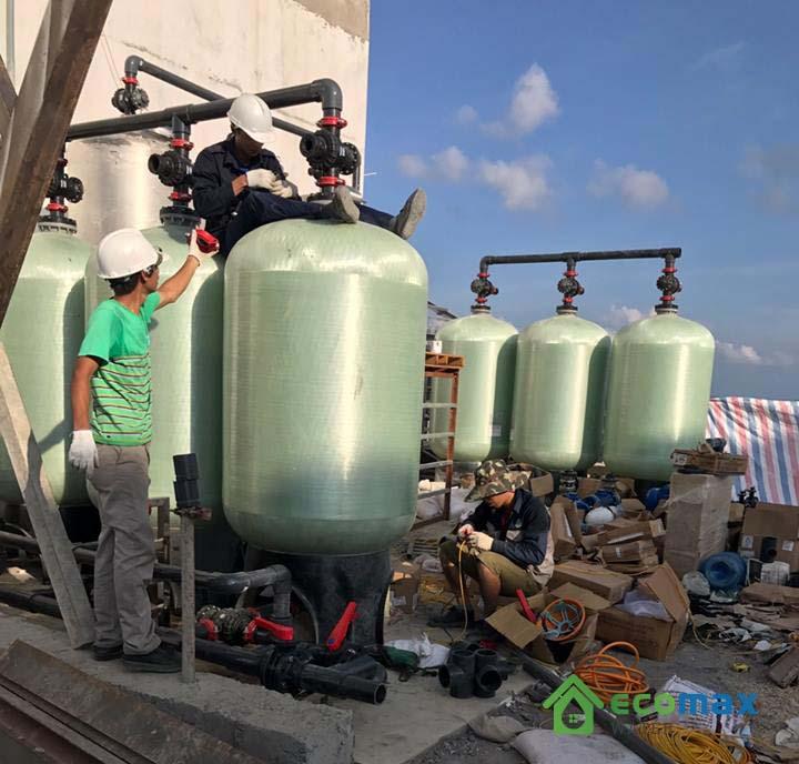 Lọc nước giếng khoan công nghiệp