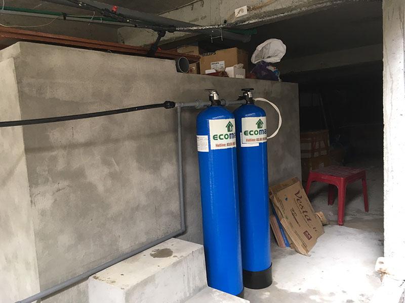 Bộ lọc nước xử lý đá vôi