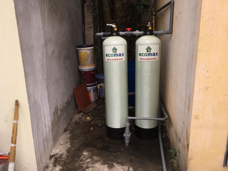 Bộ lọc nước giếng khoan cho phòng trọ