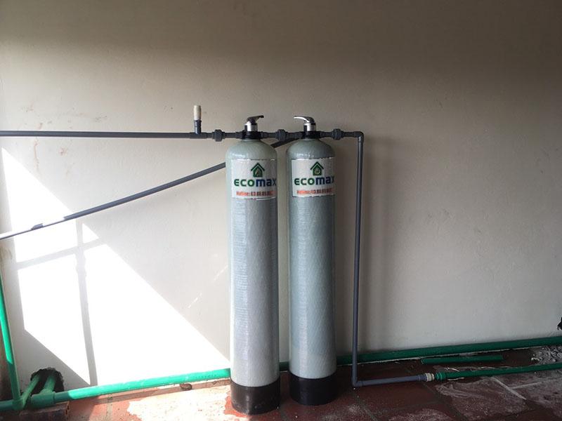 Bộ lọc nước giếng khoan tại Phú Thọ