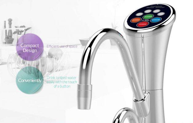 máy lọc nước gắn chậu rửa