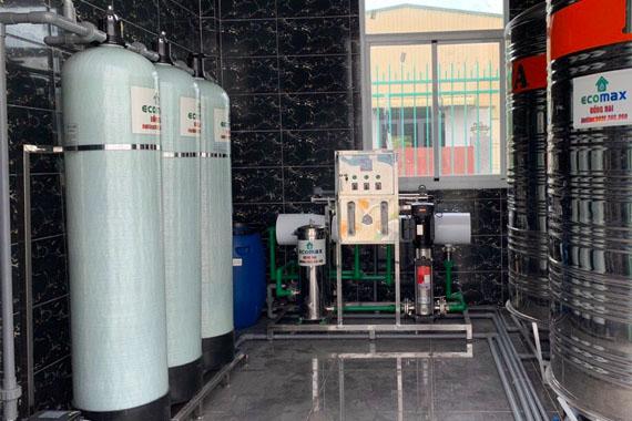 Dây chuyền lọc nước tinh khiết RO 1000lít Ecomax
