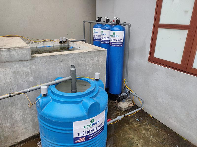 Bộ lọc nước giếng khoan Ecomax giá rẻ