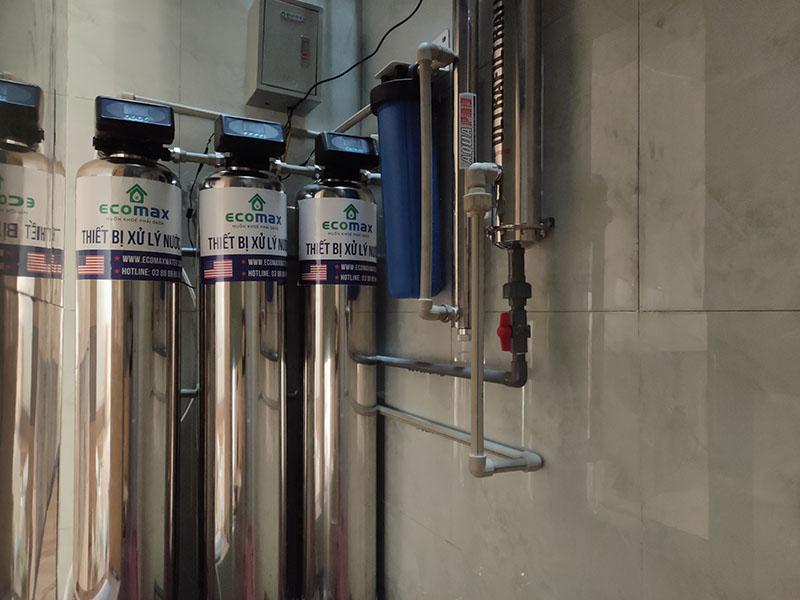 Bộ lọc nước sinh hoạt cao cấp Ecomax