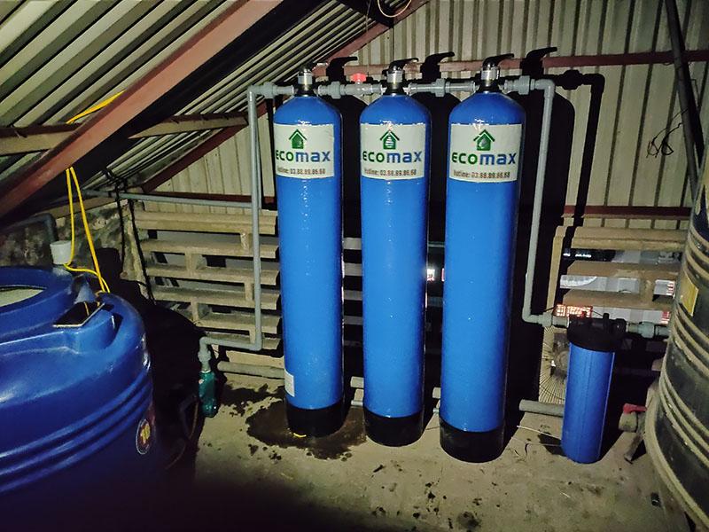Hệ thống lọc nước tổng sinh hoạt ECO-05 Ultra 5 cấp lọc cao cấp